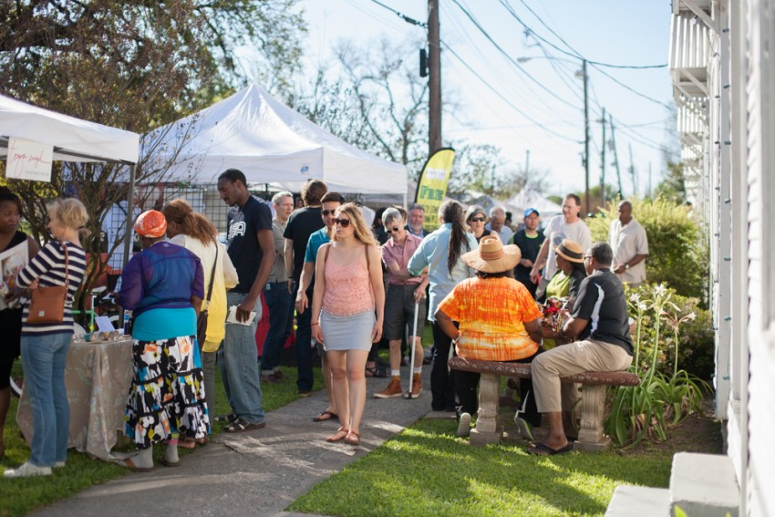 8. Community Market crowd - Photo by Blair Truesdell
