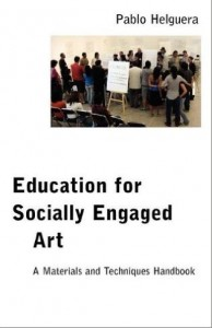 A Materials and Techniques Handbook Education for Socially Engaged Art
